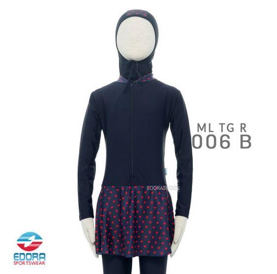 Toko Baju Renang Muslimah Modern Edora ML TG R 006 B