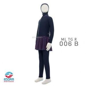 Jual Baju Renang Muslimah Anak Modern Edora ML TG R 006 B