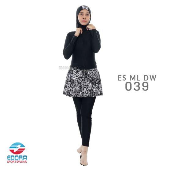 Jual Baju Renang Muslimah Edora Murah ES ML DW 039