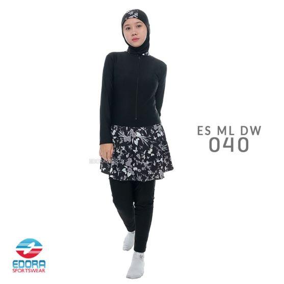 Jual Baju Renang Muslimah Edora Murah ES ML DW 040