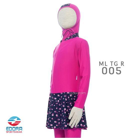 Jual Baju Renang Muslimah Anak Murah Edora ML TG R 005