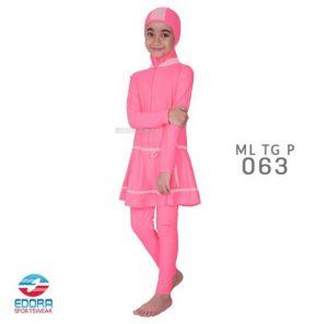 Jual Baju Renang Muslimah Anak Modern Edora ML TG P 063