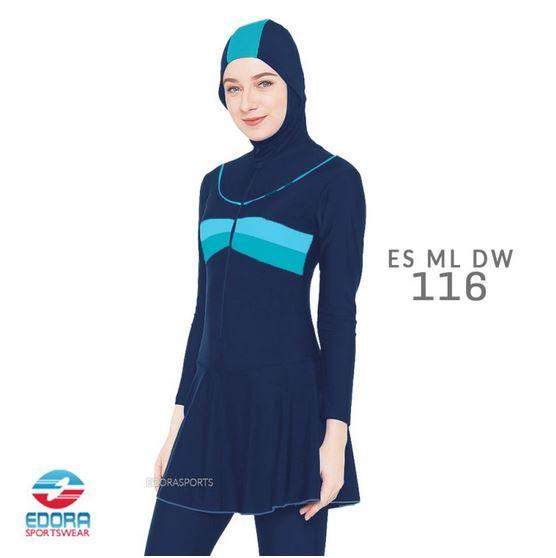 Jual Baju Renang Muslimah Murah Edora ES ML DW 116