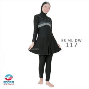 Jual Baju Renang Muslimah Modern Edora ES ML DW 117