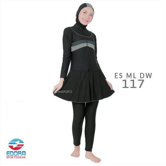 Toko Baju Renang Muslimah Modern Edora ES ML DW 117